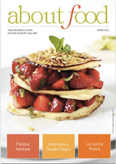ESTOU NA REVISTA ABOUT FOOD, NA PGINA 53