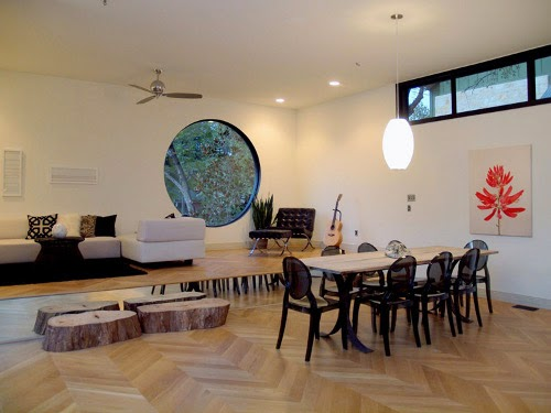 barcelona modern interior design dining room