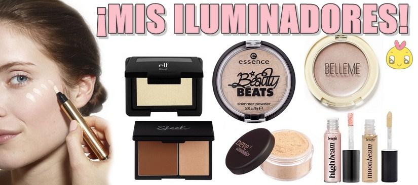 maquillaje iluminador facial