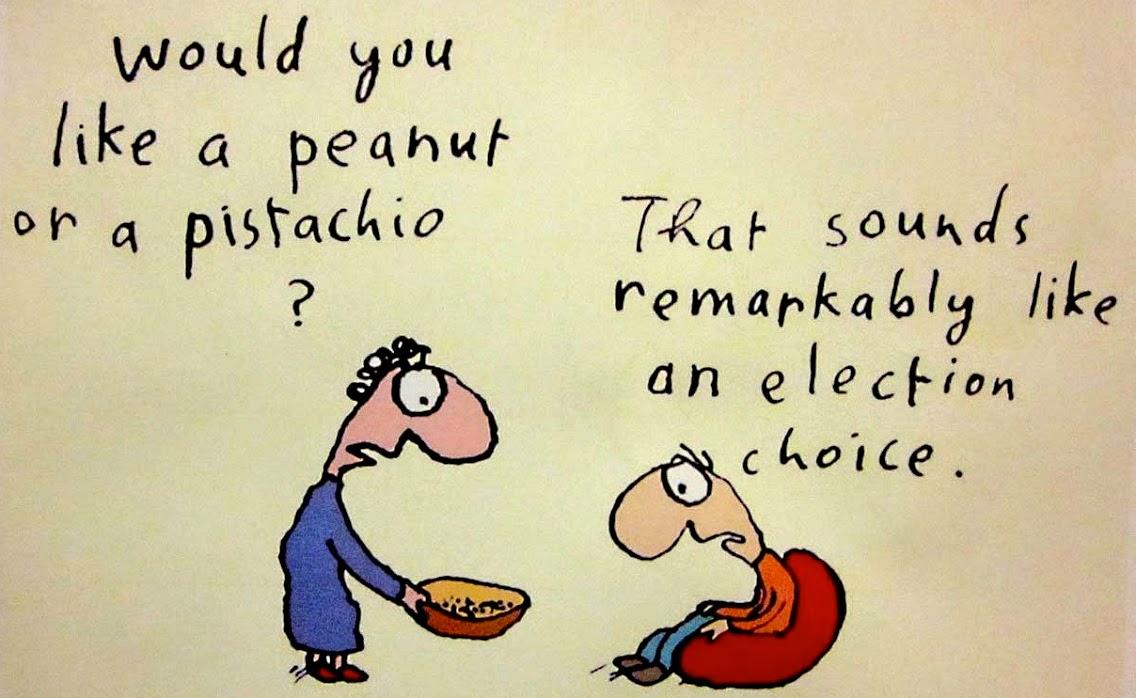 Michael Leunig: Peanut or Pistachio.