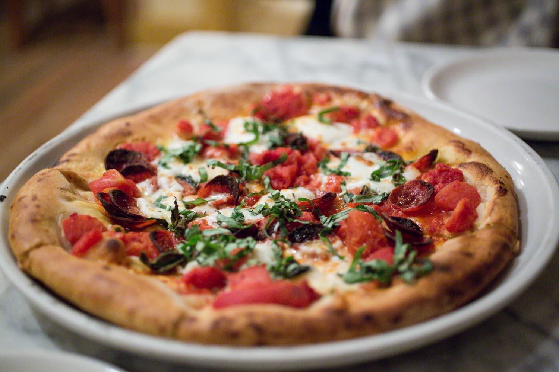 Pizzeria Paradiso Margherita Pizza