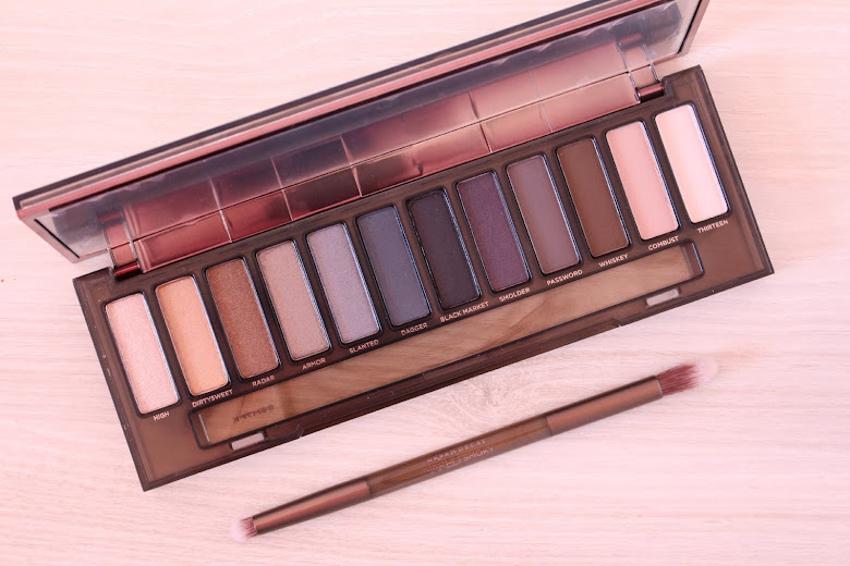 Idée makeup Naked Smoky Urban Decay