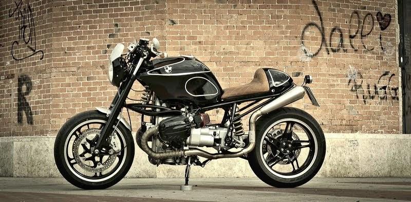 Hondayes Bmw R1150 By Garagefd