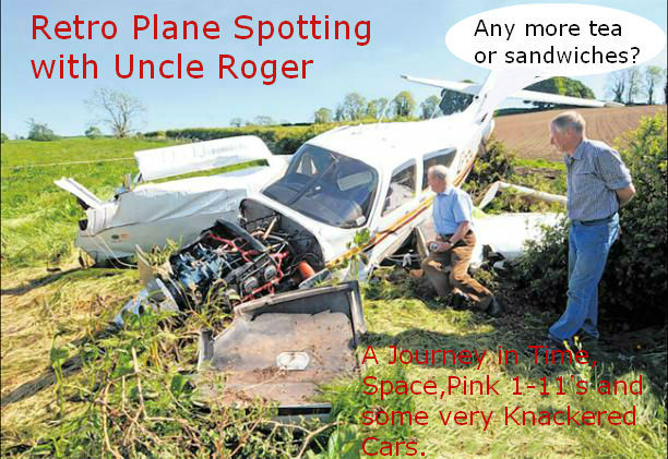 Retro Plane Spotting with Uncle Roger