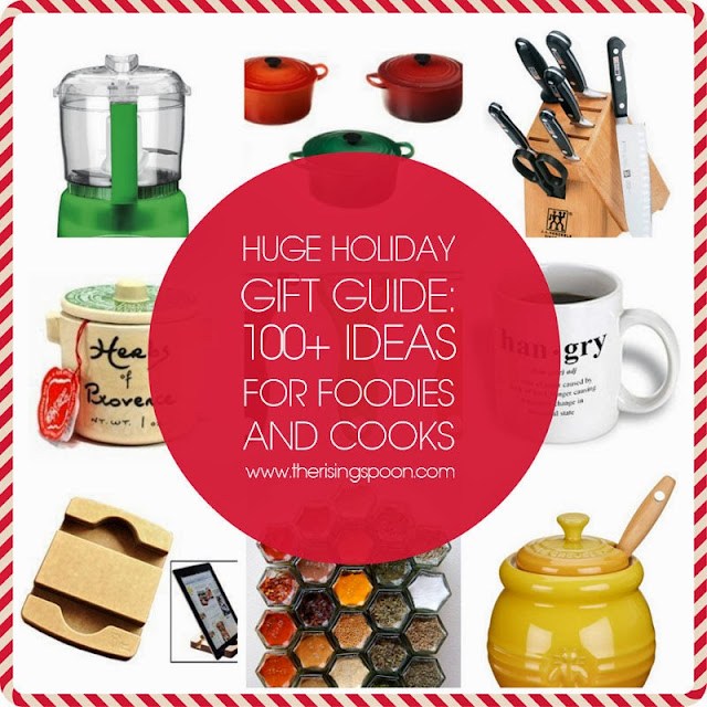 HUGE Holiday Gift Guide: 100+ Ideas For Foodies & Cooks | www.therisingspoon.com
