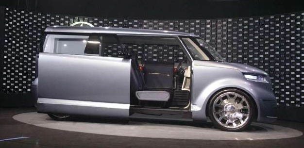 2005 Scion 5 Axis Widebody Dj Xb. Scion t2B Concept, 2005