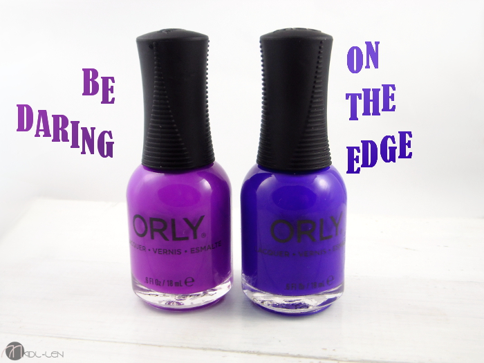 Orly, Adrenaline Rush, BE DARING, ON THE EDGE