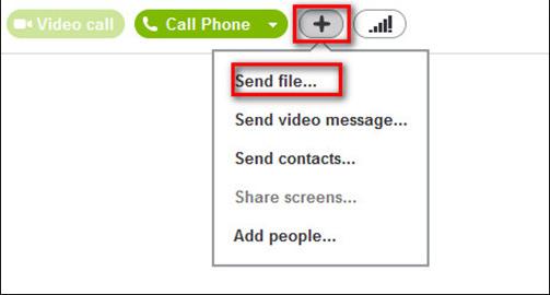 Cách thay đổi đường dẫn lưu File Skype