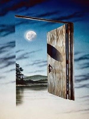 Eine Tür öffnet sich...