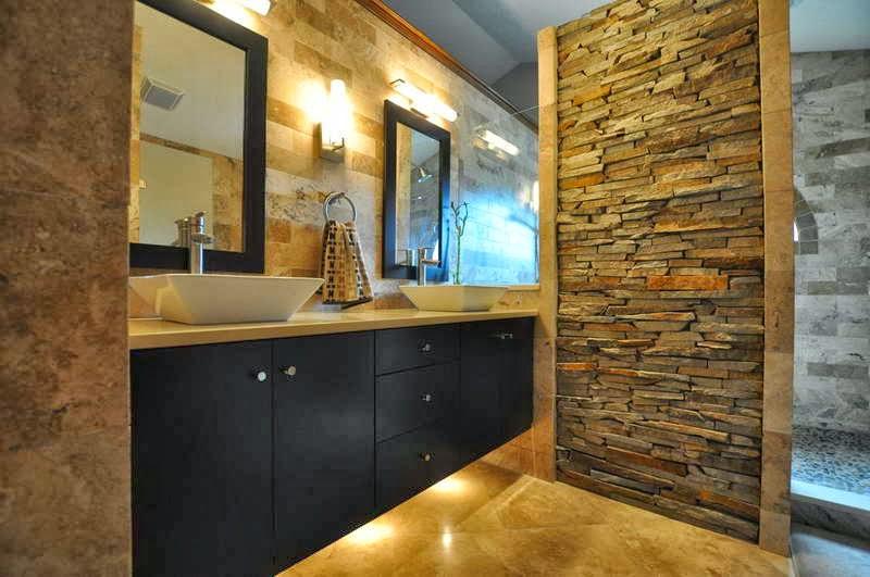 Azulejos Baño Piedra:Baños de piedra