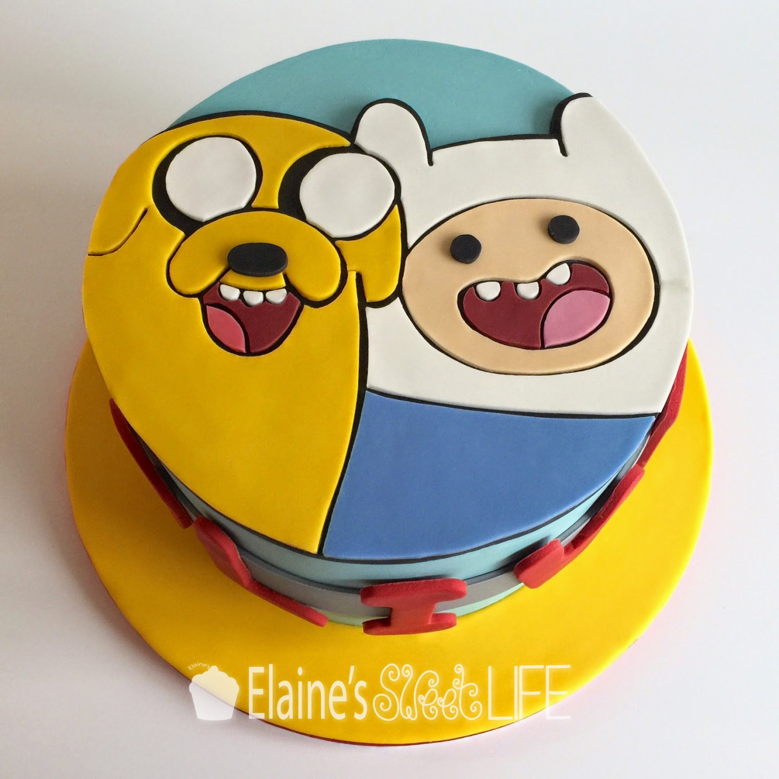 Elaines Sweet Life Adventure Time Cake