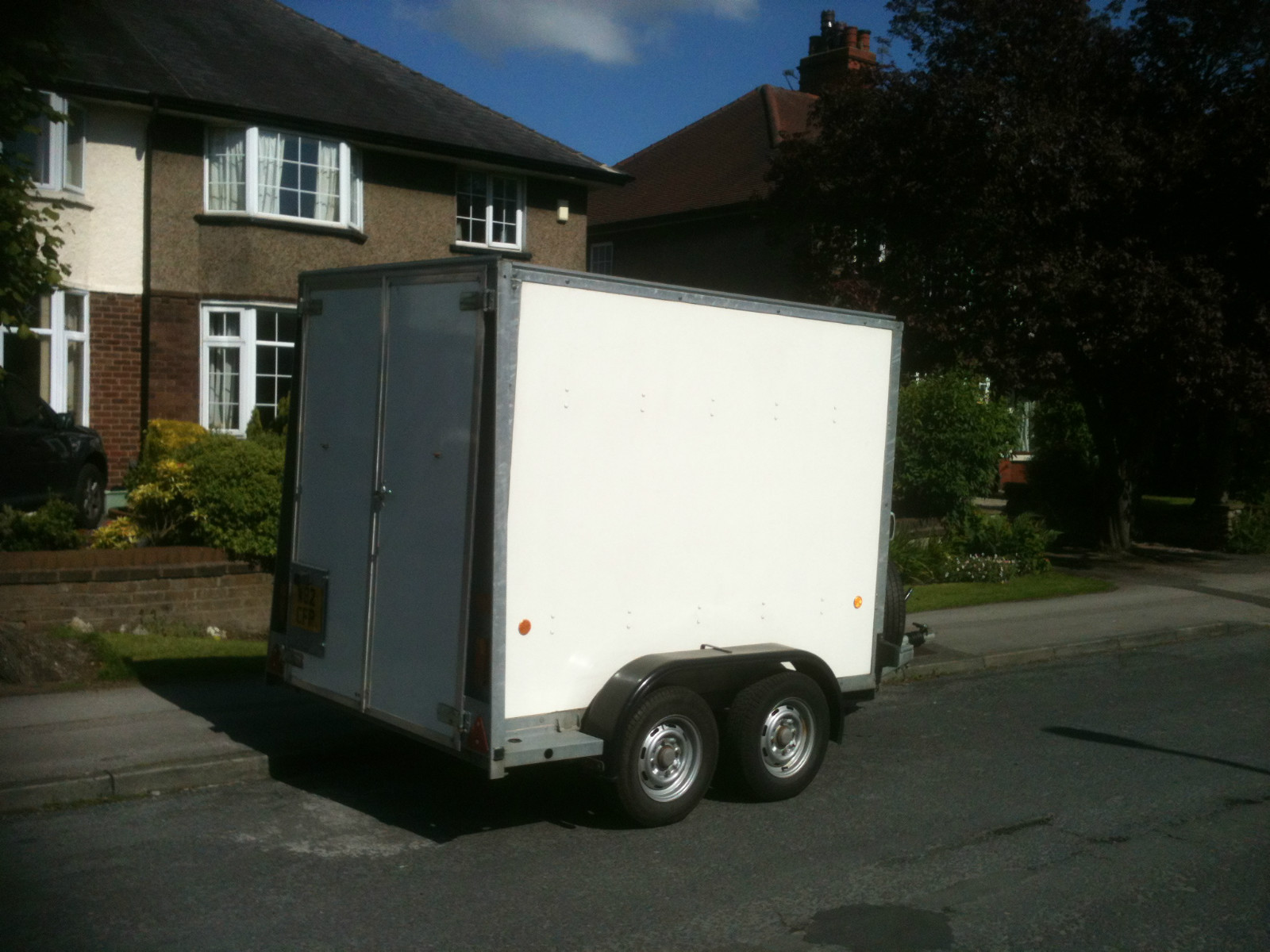 ebay scam hunter ifor williams bv85g box trailer. Black Bedroom Furniture Sets. Home Design Ideas