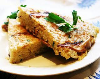 Receta de tortilla de arroz