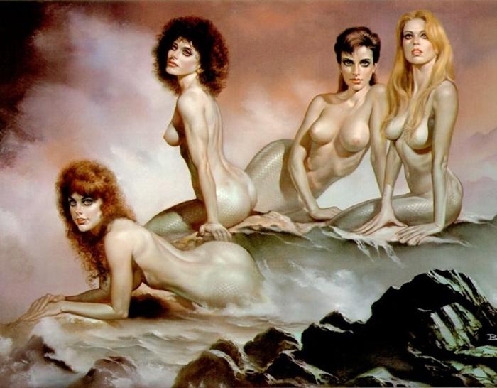 Boris Vallejo 1941 | Peruvian-born American Fantasy painter