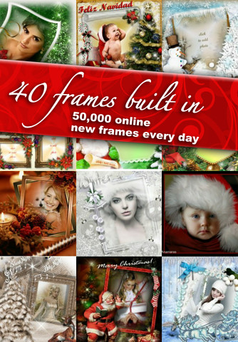 Christmas Frames from Imikimi - <center>Cool iPhone Apps ...