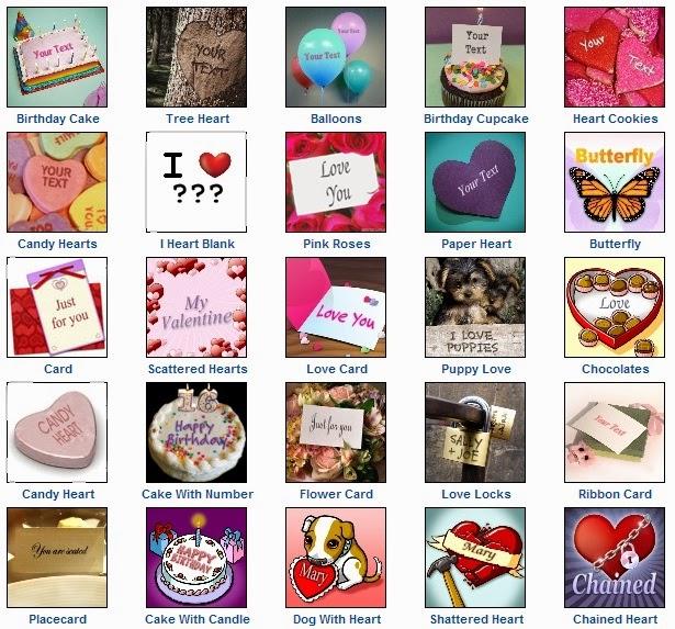 Love Valentine Cards