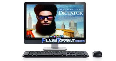 Baixar Filme O+Ditador+(The+Dictator) O Ditador (The Dictator) (2012) BDRip XviD Dual Áudio torrent
