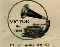 Victor Talking Machine Company ad from Good Housekeeping, 1905