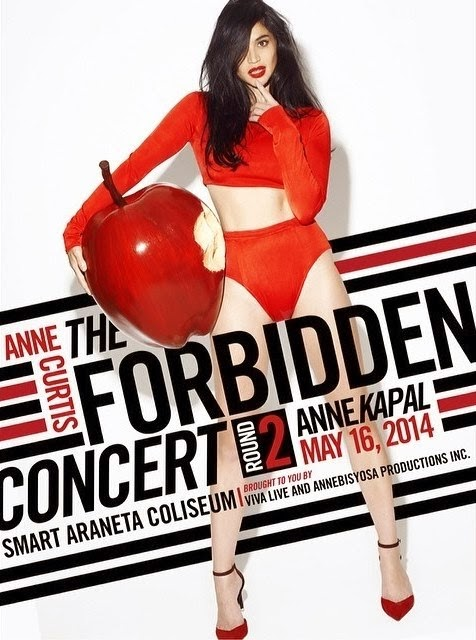 AnneKapal Forbidden Concert will be on May 16 at the Araneta Coliseum