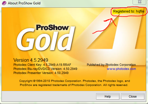 proshow gold software free  with crack