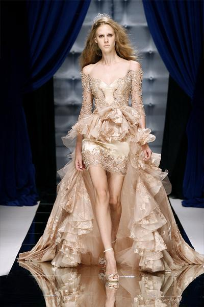2016 wedding dresses and trends high low wedding dresses for High couture dresses