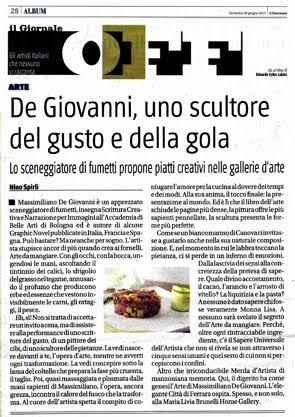 """Giugno 2013: vi aspetto su """"Il Giornale"""""""