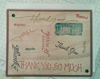 Masculine Thank-You Card