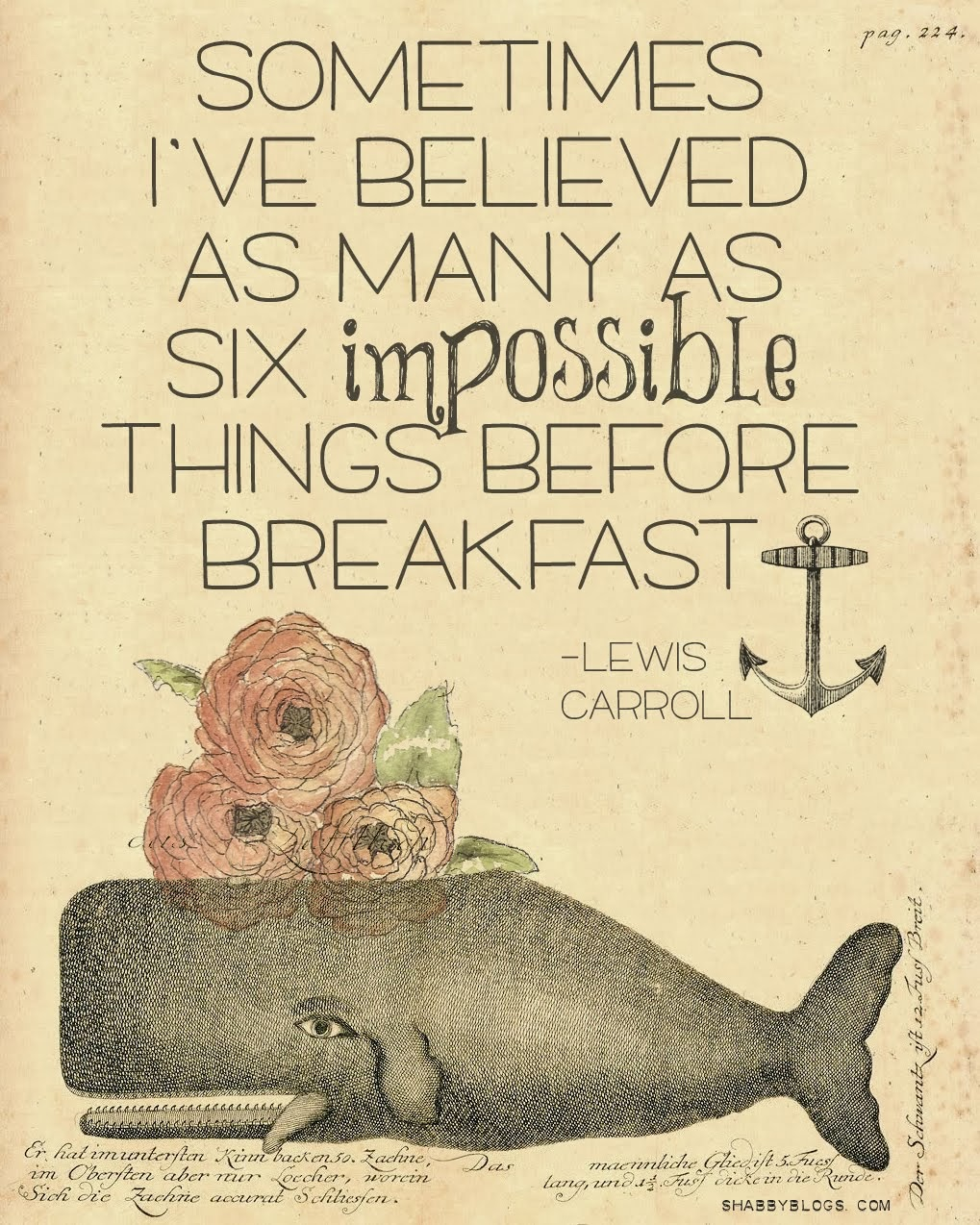 Impossible Things....