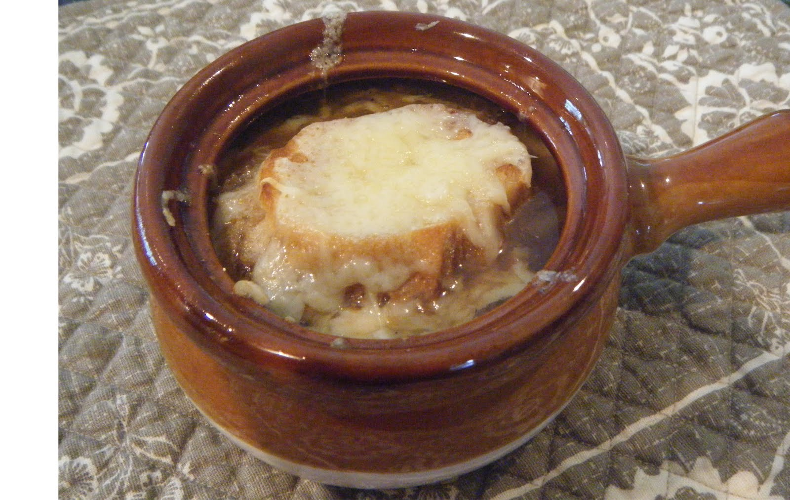 Nutrition Budgeteer: French Onion Soup in Paris Most Memorable