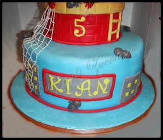 spider man cake per il piccolo kian