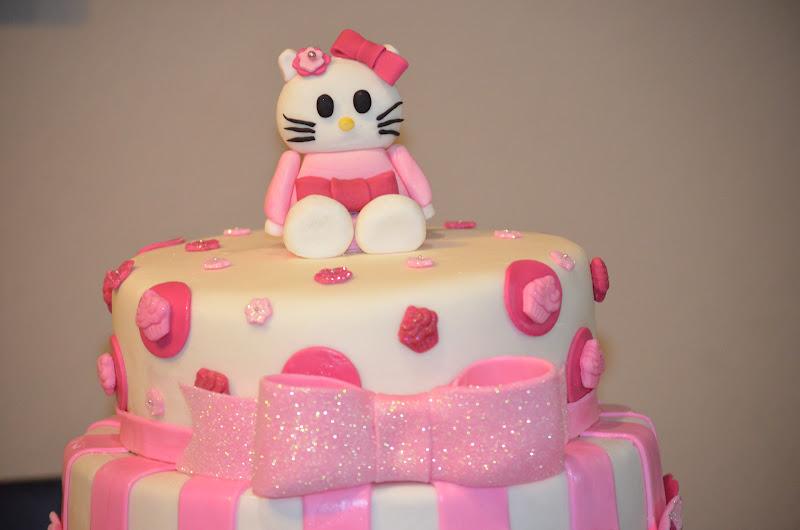 Traylor Made Treats Hello Kitty Cake party favors