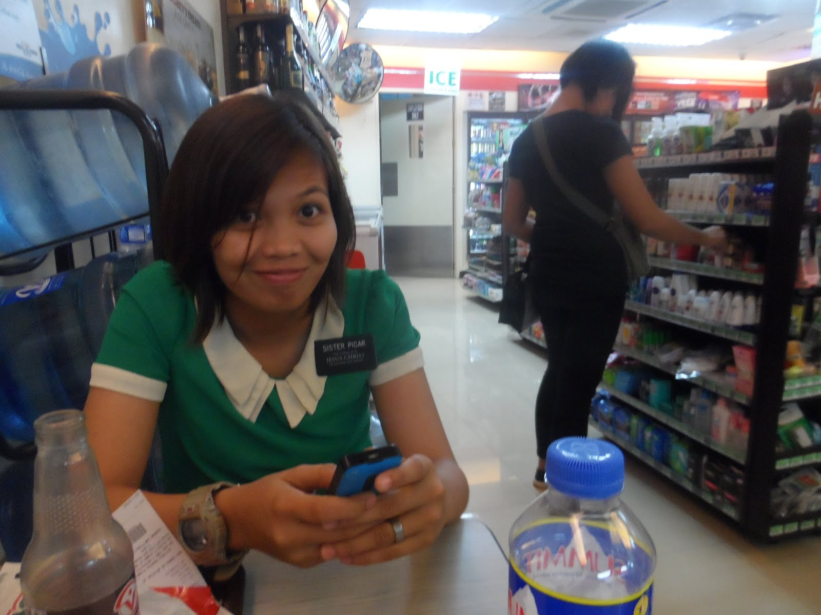 My companion Sister Picar