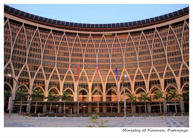 Ministry of Finance, Kementerian Kewangan, Putrajaya, Malaysia