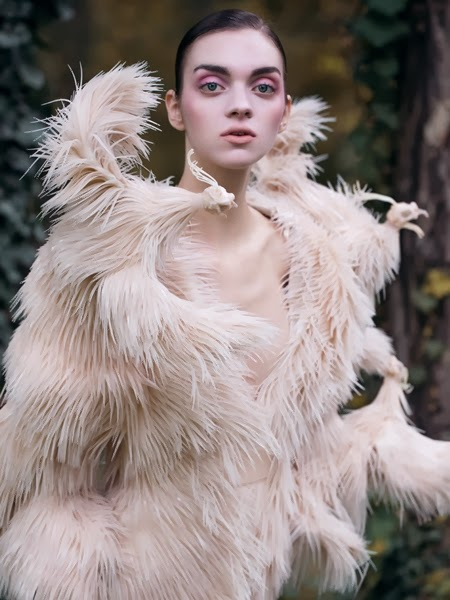 Iris van Herpen Fall Couture 2013 Rubber Chickens Dress