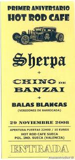 entrada de concierto de sherpa