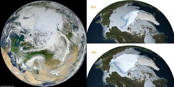 Kutub Utara Mencair