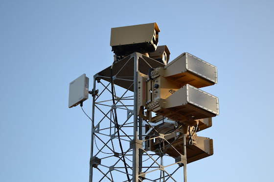 Blighter B400 Series radar and camera