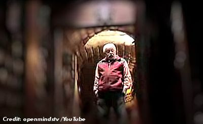 UFO Journalist Jaime Maussan Gives a Tour of The Tunnels at His Underground Abode