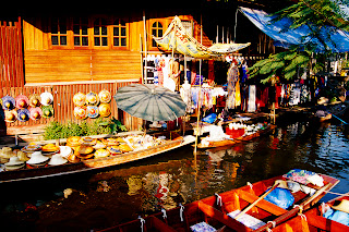 Bangkok Culturel Staff Local Market HD Wallpaper