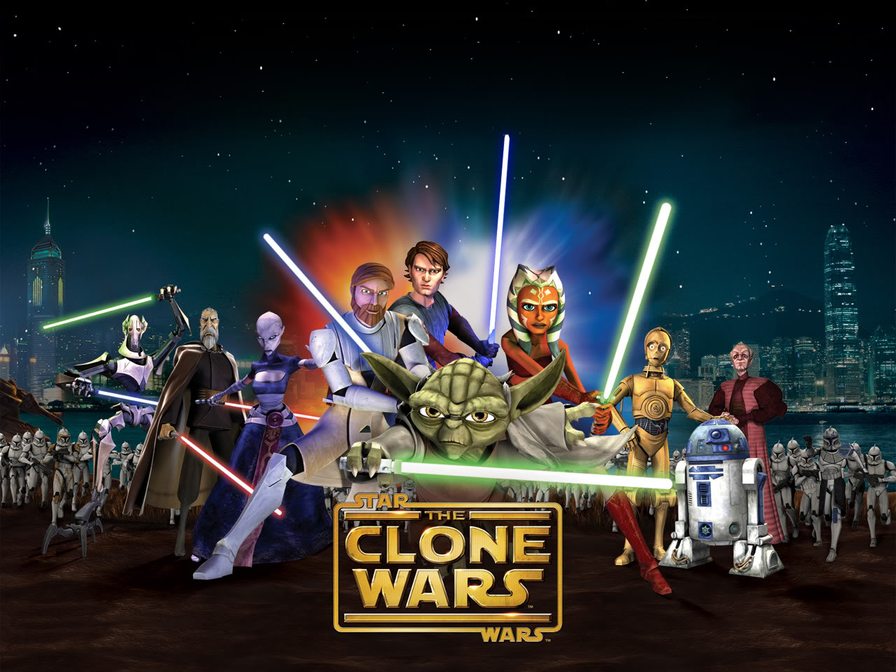 Cartoon Network Starwars Kolon Savaşları Oyunları
