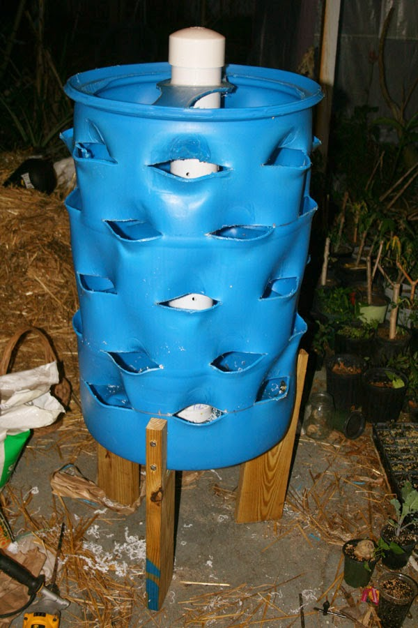 The Rapid Rise And Precipitous Fall Of A Worm Bin Tower Garden