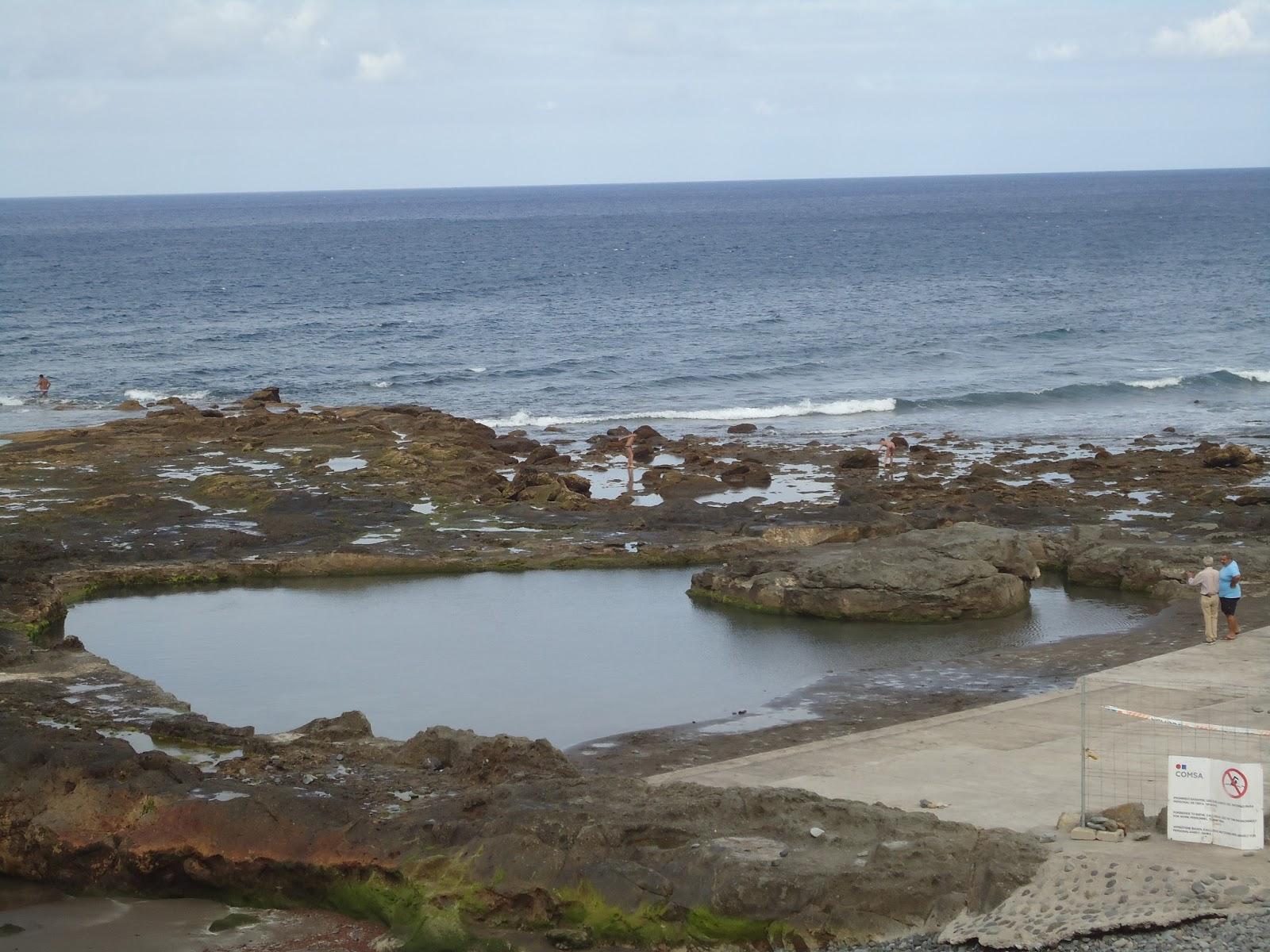 Telde habla la playa de la laja ya tiene piscina las for Piscinas naturales las palmas