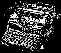 una máquina de escribir antigua