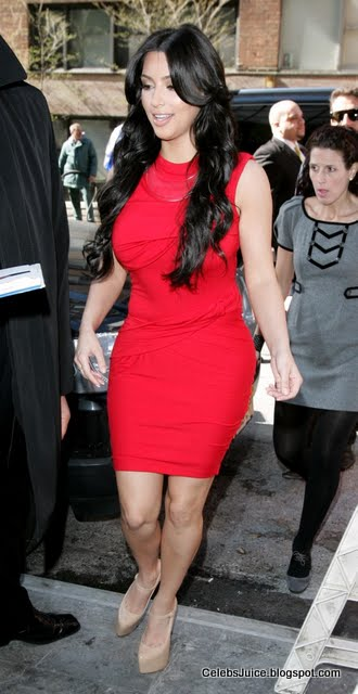 "Kim Kardashian at ""The Wendy Williams Show"" in New York-2"