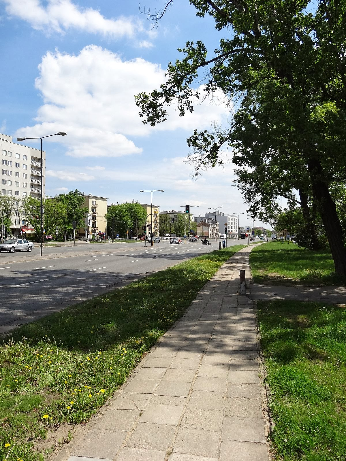 Północna granica Witolina. Ulica Grochowska