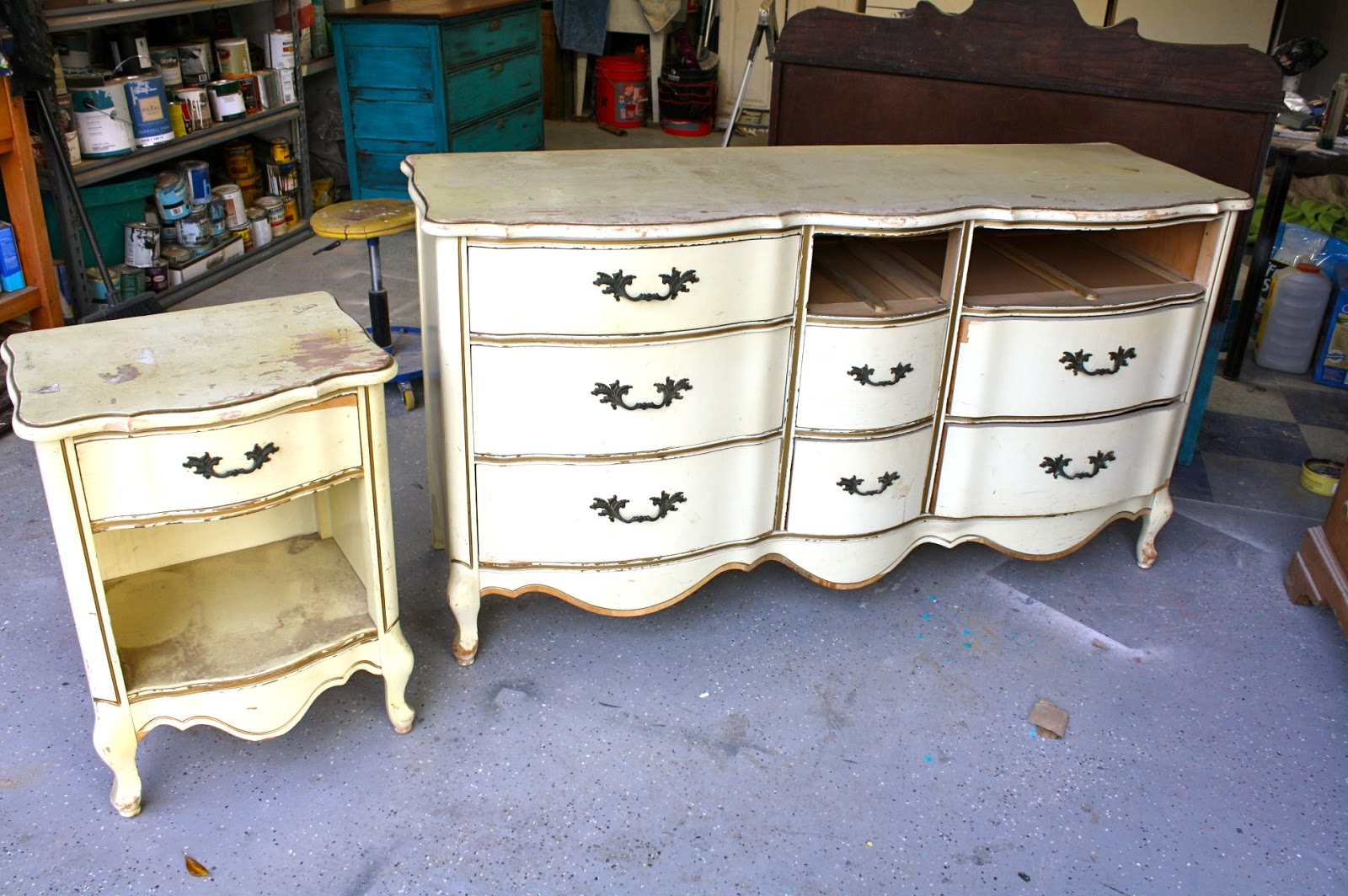 Makemeprettyagain French Provincial Make Over