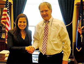 Passing the Torch....Stefanik and Owens Meet