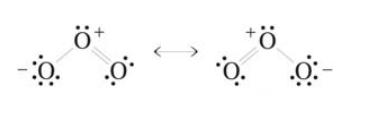 Ozone Structural Formula Ozonolysis