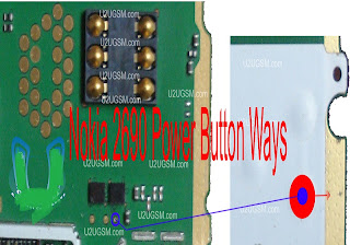 Nokia 2690 Power on off switch solution