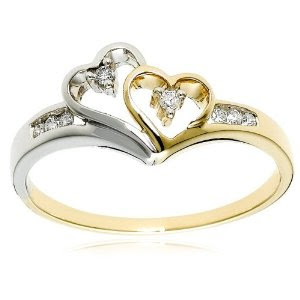 Wedding Ring Two Tone